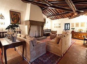 Villa dell 39 angelo interni for Interni ville antiche