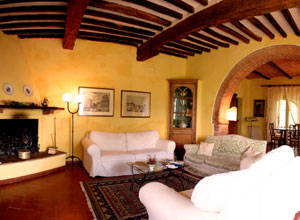 Case Toscane Interni : Villa sasso canaldo interni
