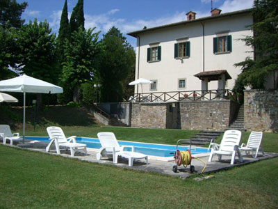 Villas Arezzo Cortona - Villa La Castellaccia