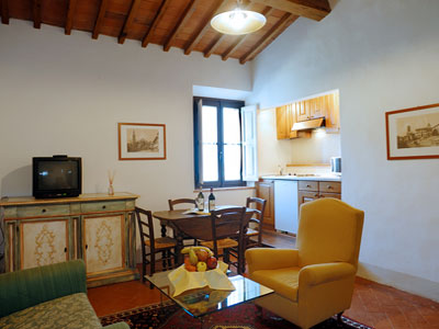 Apartments Florence Outskirts - Villa Le Piazzole - Corte