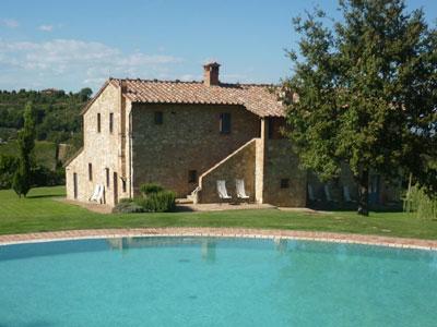 Villas Val d'Orcia Montalcino - Villa Podere Monti