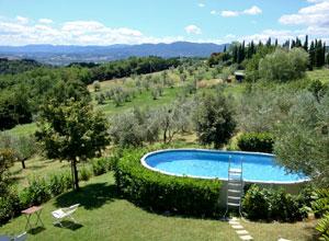 Villa le torri esterni for Piscina rialzata