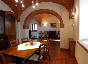 Villa verdi interni for Arredo casa montaione